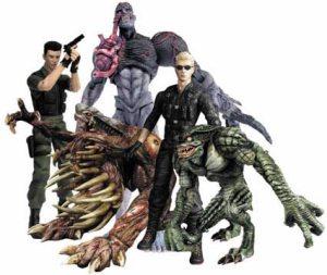 Resident Evil toys.