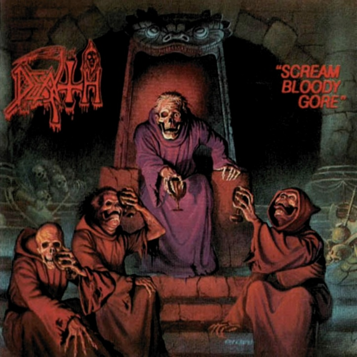 #3) Death - Scream Bloody Gore