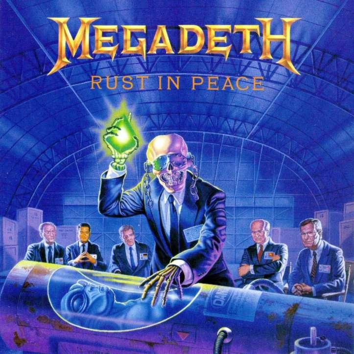 #7) Megadeth - Rust In Peace